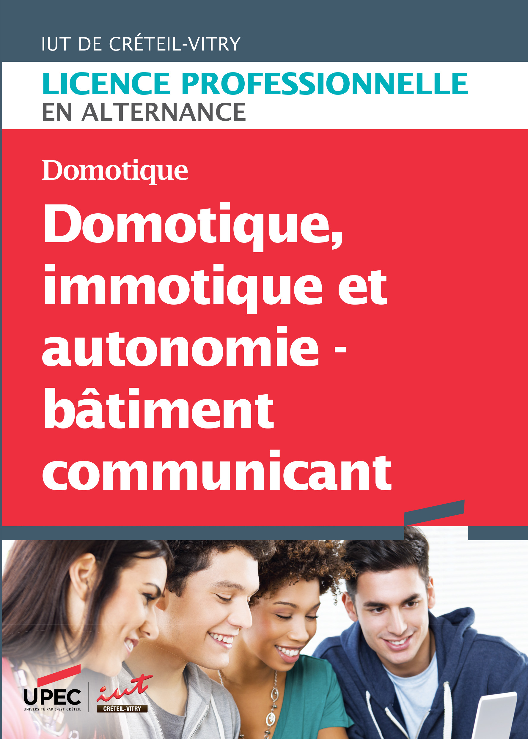 Plaquette LP Domotique, immotique et autonomie - Bâtiment communicant