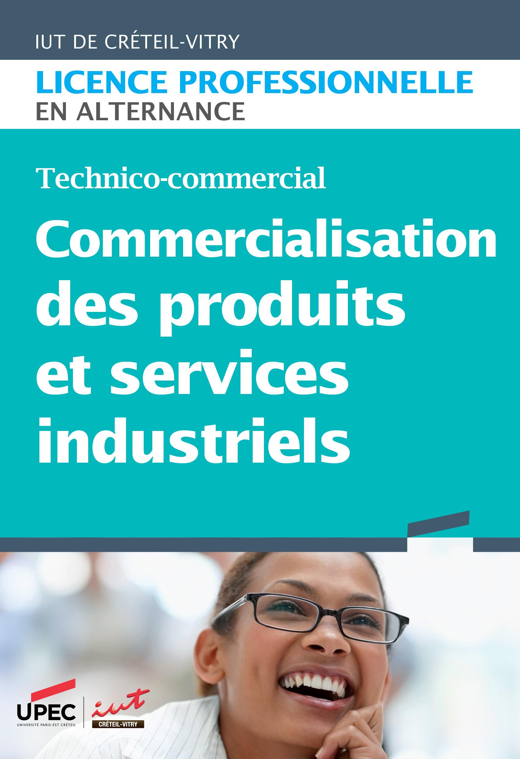 Plaquette LP Commercialisation des produits et services industriels